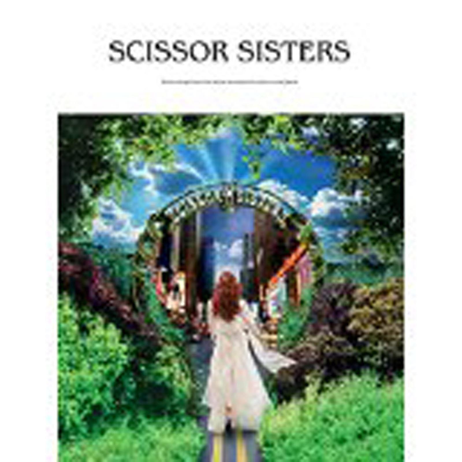 Scissor Sisters Piano Vocal Guitar Sheet Music Songbook Book B70