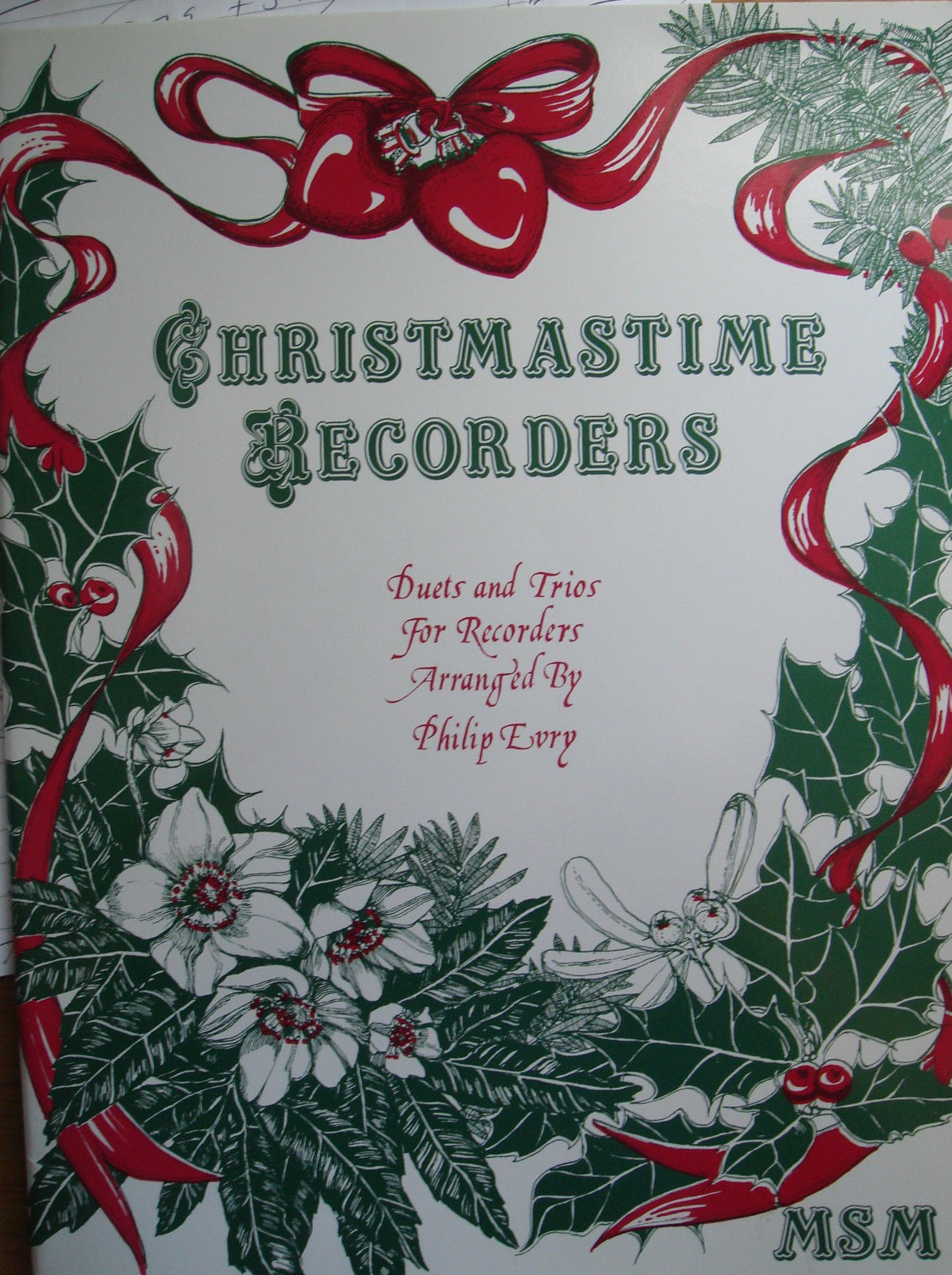 Christmastime Recorders Descant Treble Duets Trios Music Book Carols Easy B79