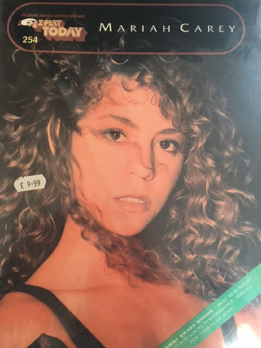 Mariah Carey Piano Music Songbook Sheet Music Guitar Vocal Lyrics Chords S27