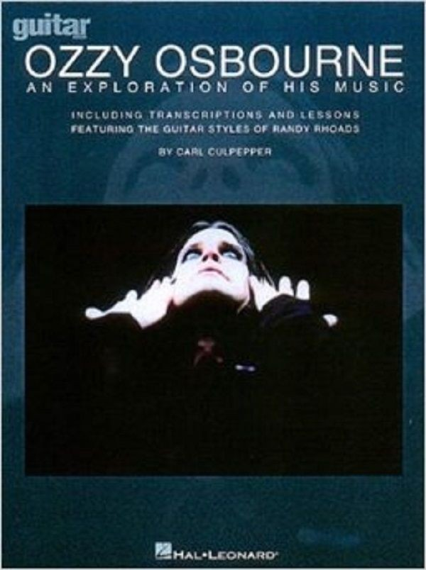 Ozzy Osbourne An Exploration of His Music Guitar Tablature Lessons Songbook S30