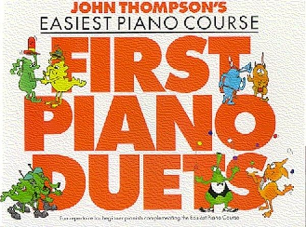 John Thompson's Easiest Piano Course First Piano Duets Beginner Music Book S55