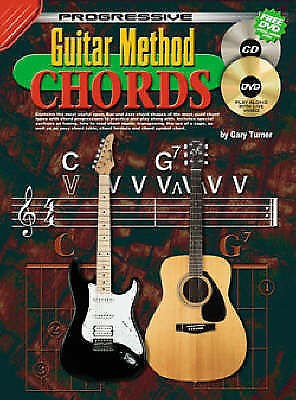 Progressive Guitar Method Chords Instructional Music Book Learn Electric S56