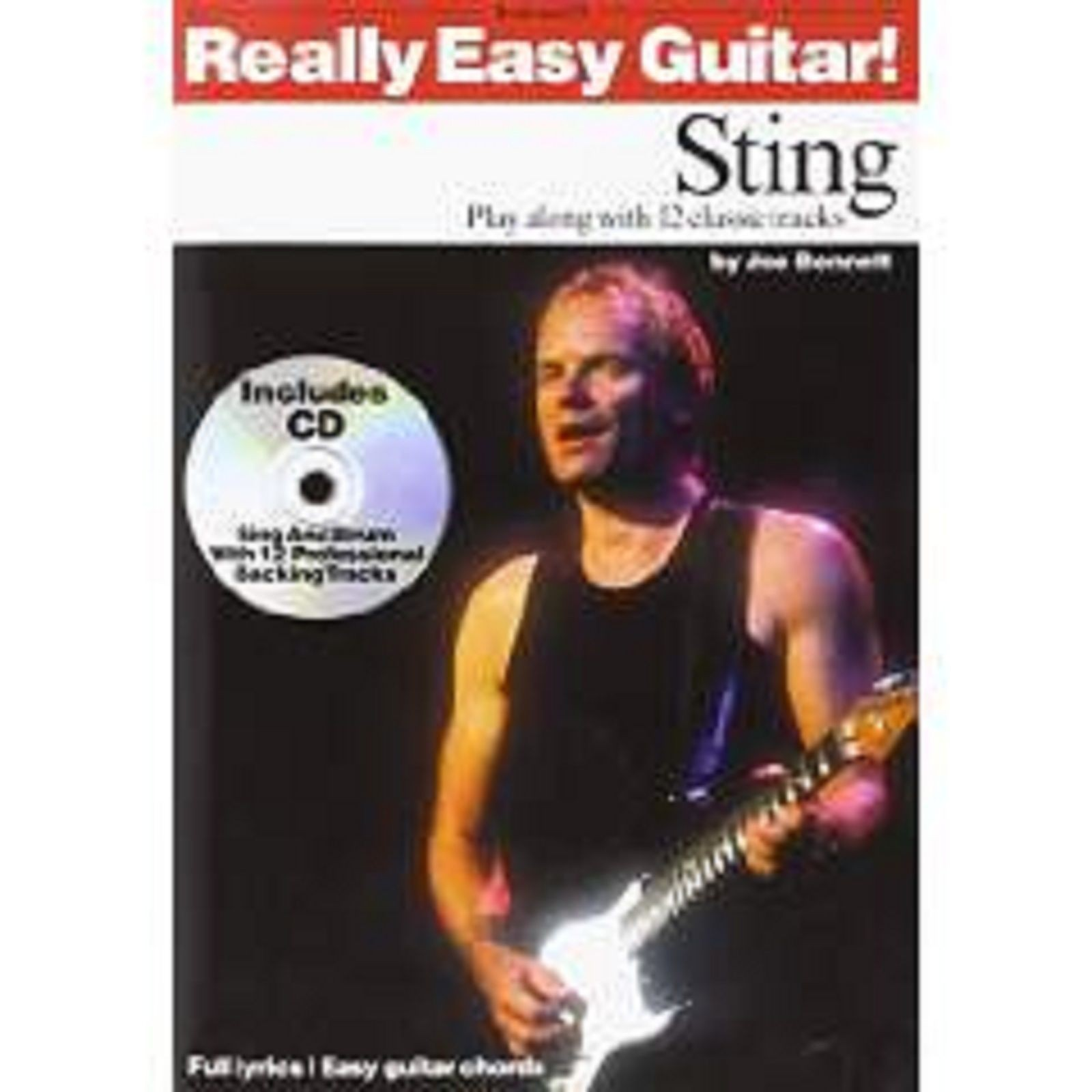 Really Easy Guitar! Sting Book CD Sheet Music Chords Beginner Rock Pop Police 61