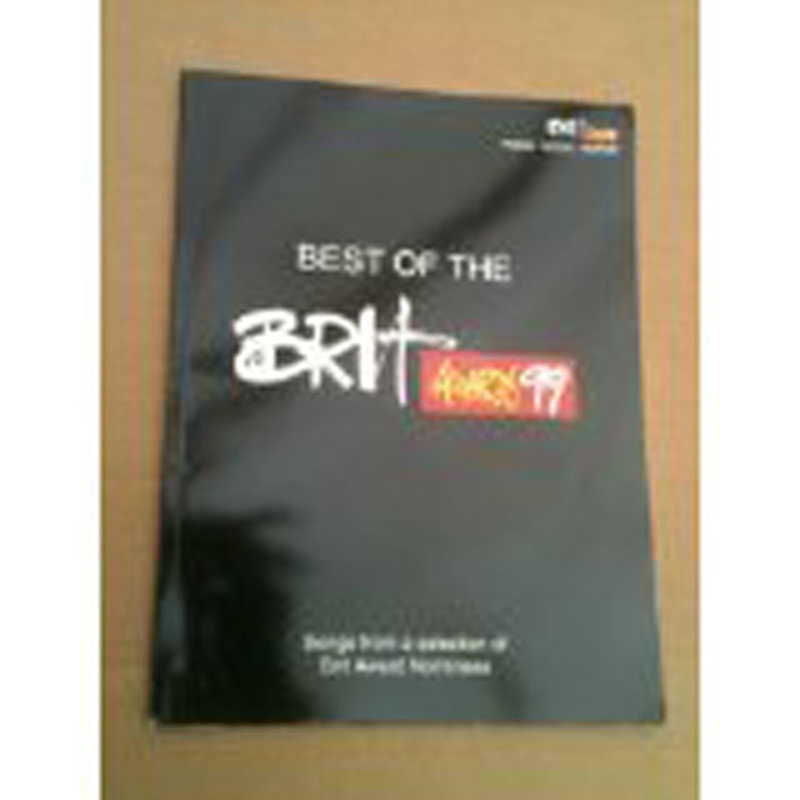 Best Of The Brit Awards 99 Piano Vocal Guitar Sheet Music Songbook Jamiroqua S67