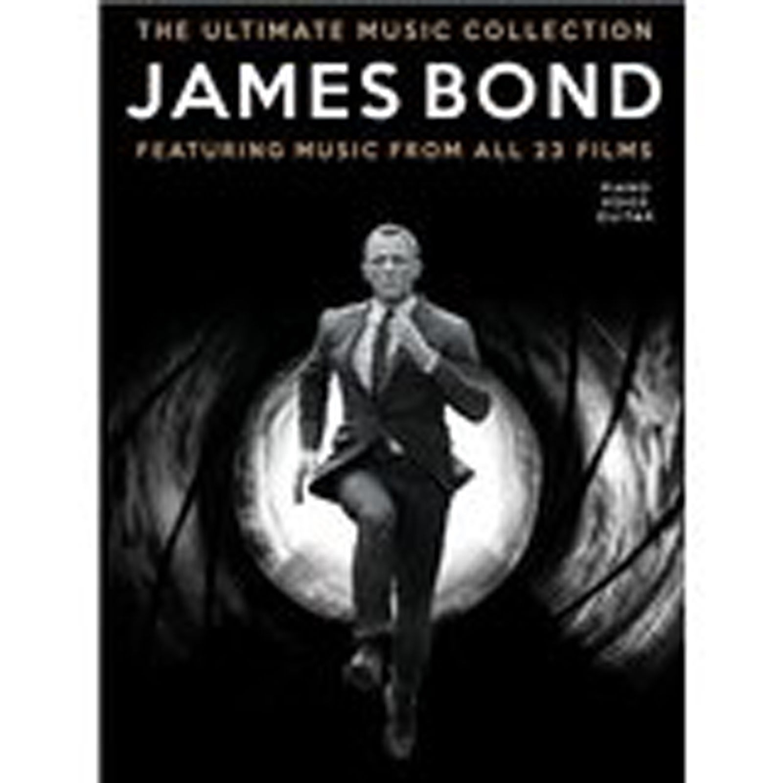 James Bond The Ultimate Music Collection Piano Voice Guitar Sheet Music S88