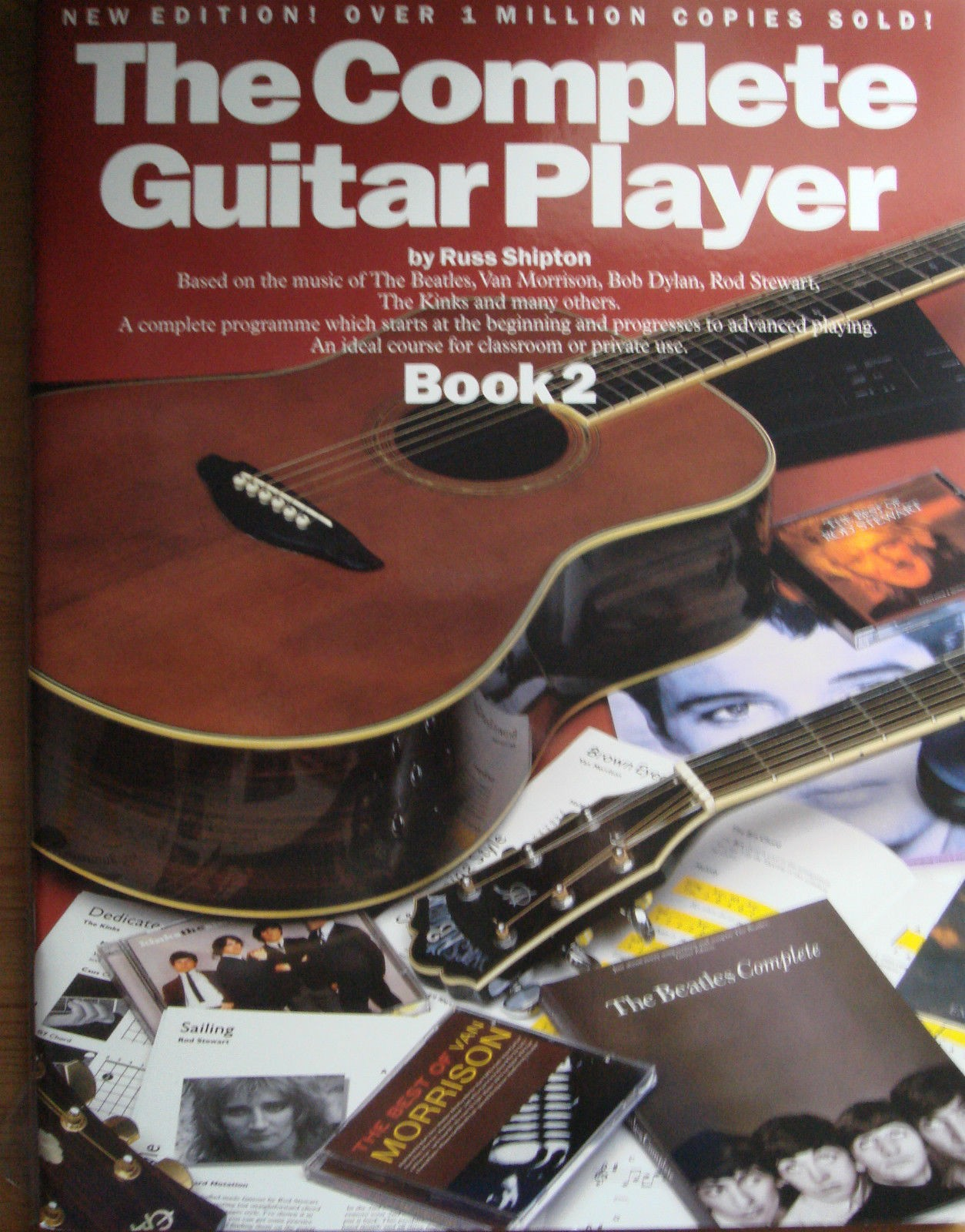 The Complete Guitar Player Book 2 Russ Shipton Acoustic Tutor New Edition B60S98