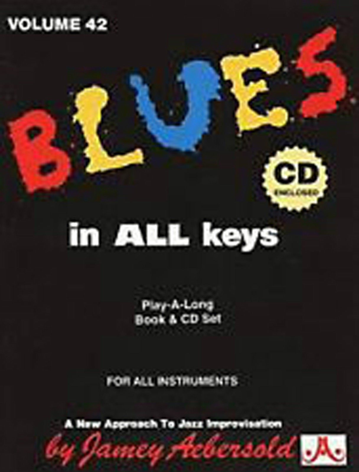 Blues in All Keys Vol 42 Book CD Jazz Playalong For All Musicians Aebersold S52