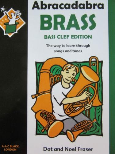 Abracadabra Brass Bass Clef Edition Book Tunes in Mixed Styles S95