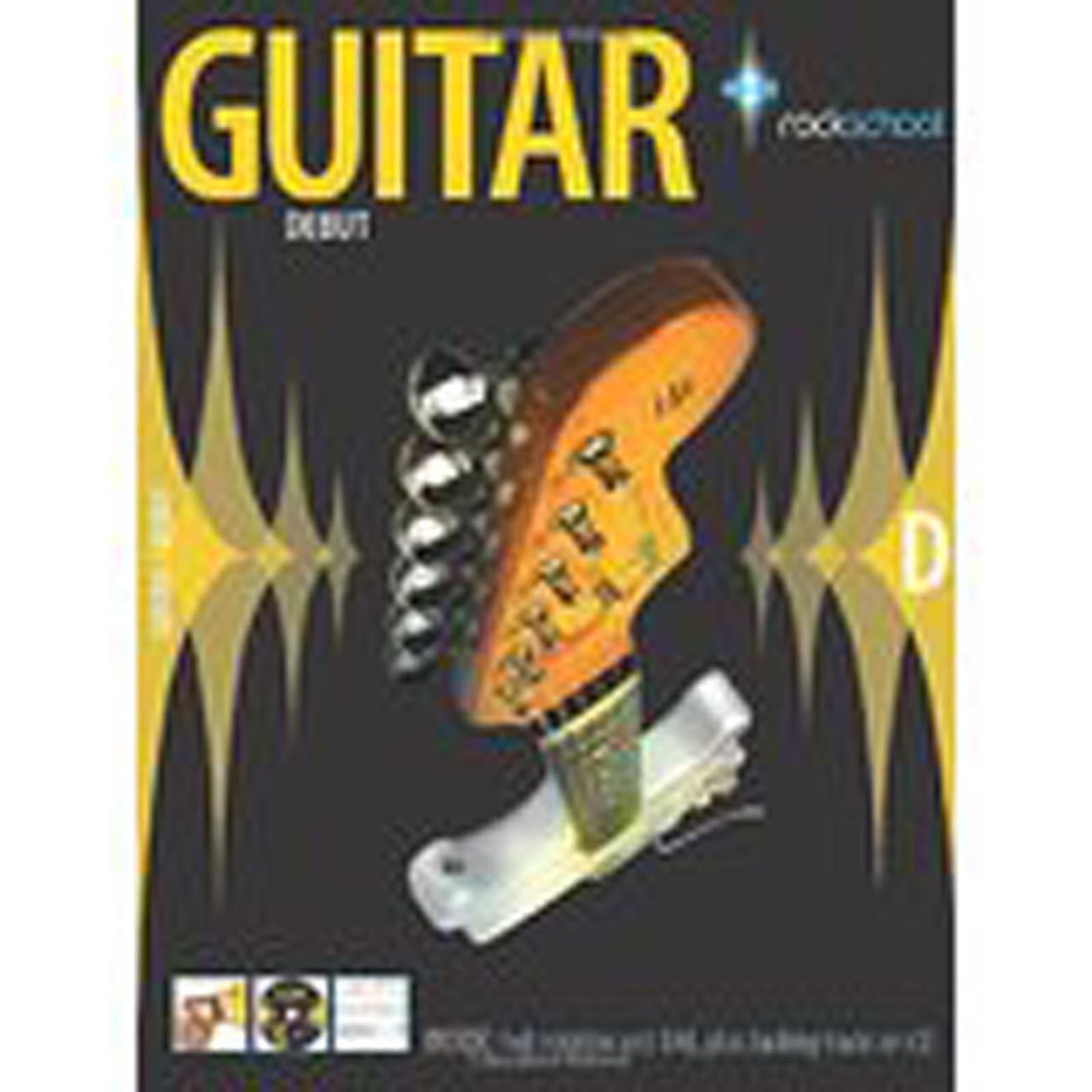 Rockschool Guitar Debut Book CD Tab Sheet Music S91