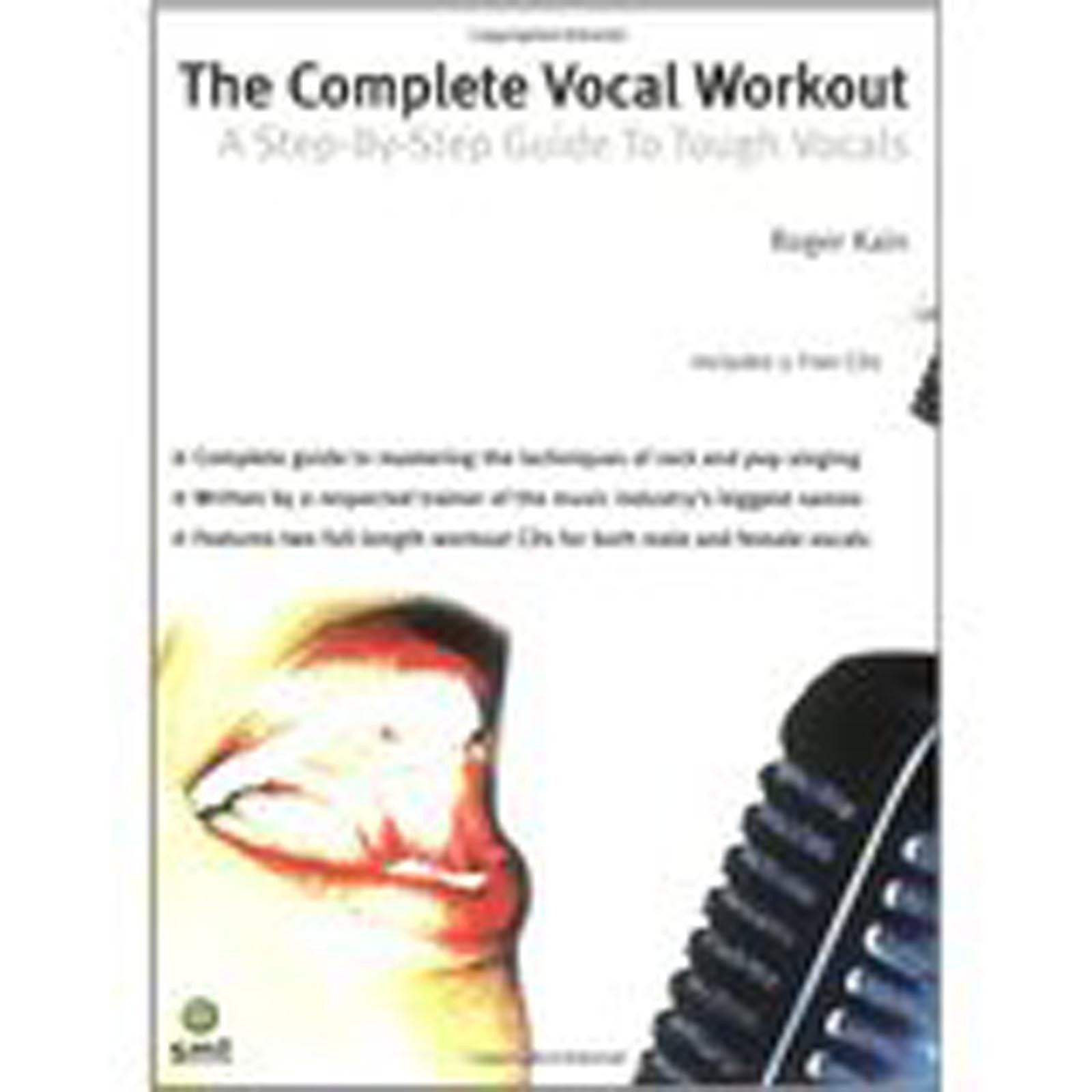 The Complete Vocal Workout A Step-by-step Guide Tough Vocals Book CD Kain S78