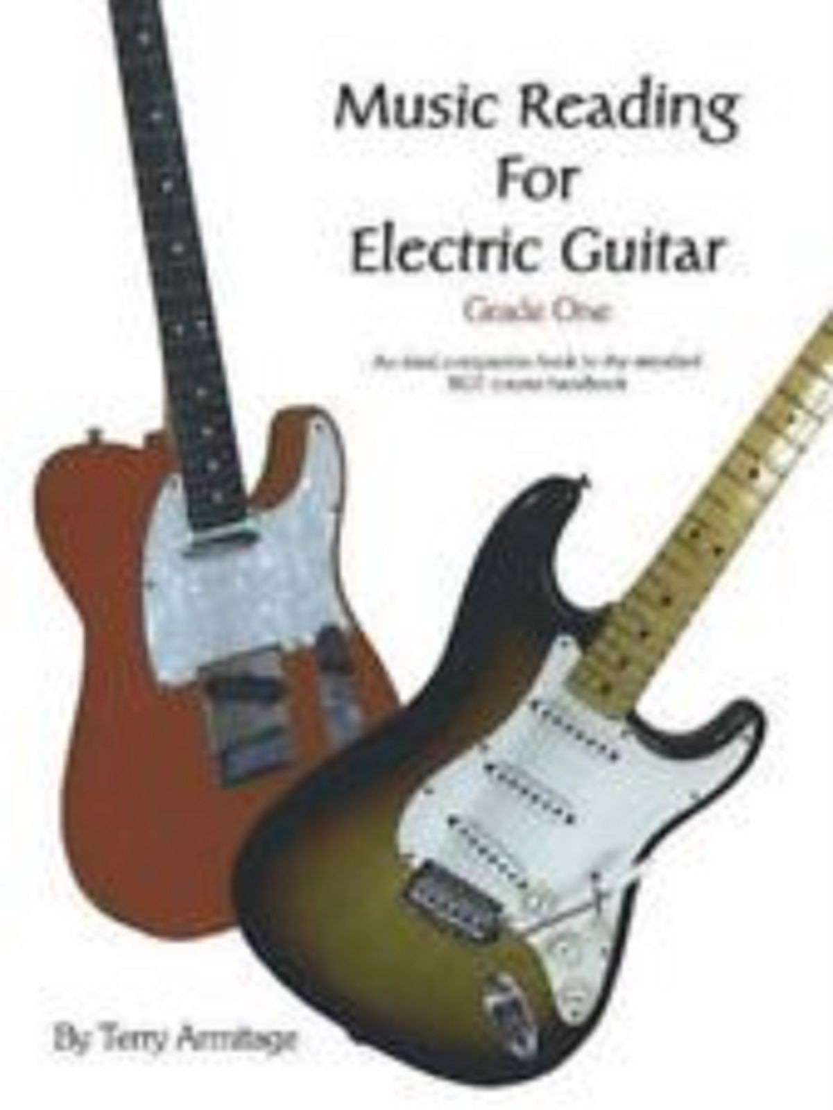 Music Reading For Electric Guitar Grade One By Terry Armitage Book S104