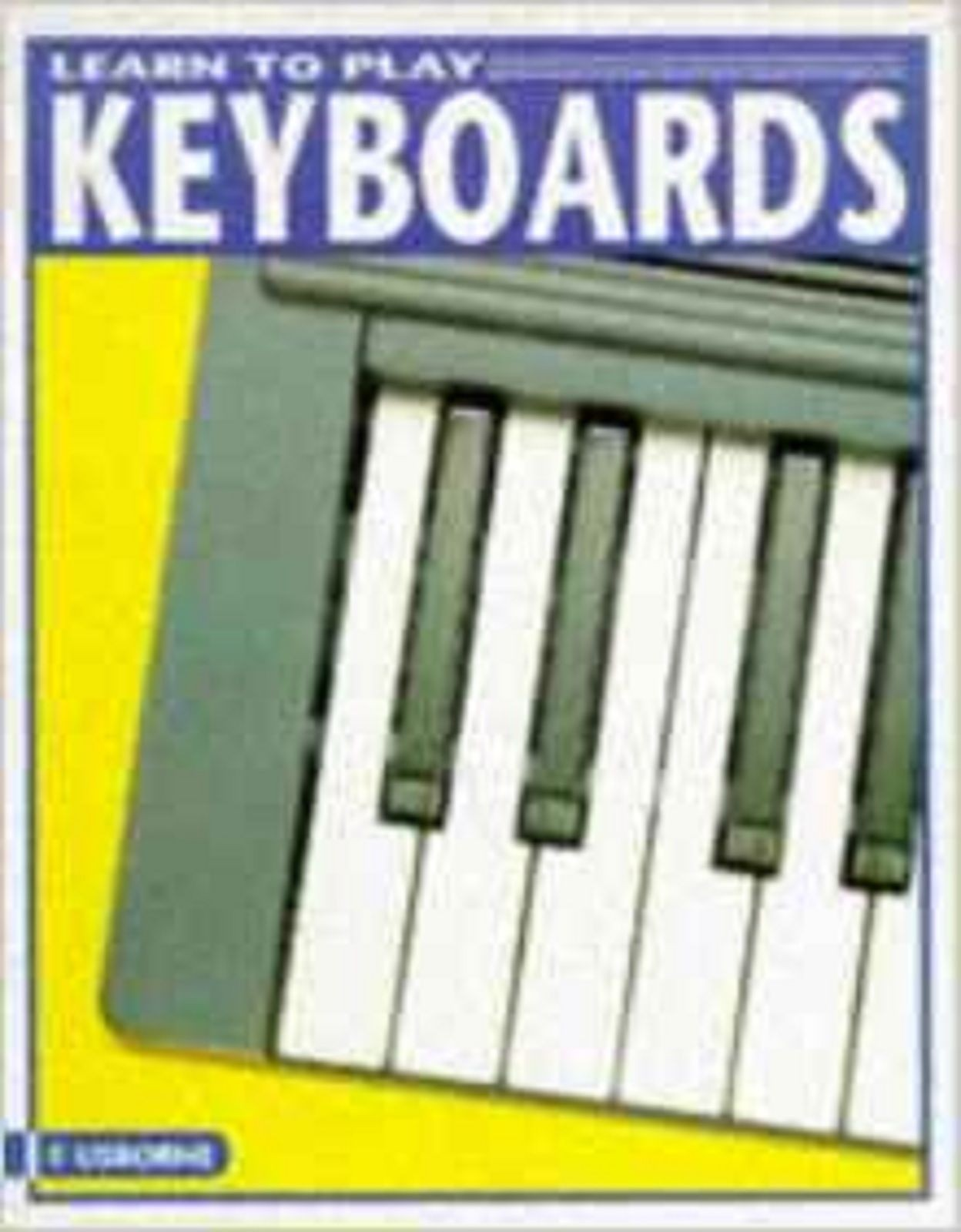 Learn To Play Keyboards Tutor Book Beginner Learn Notes Tunes Electronic S159
