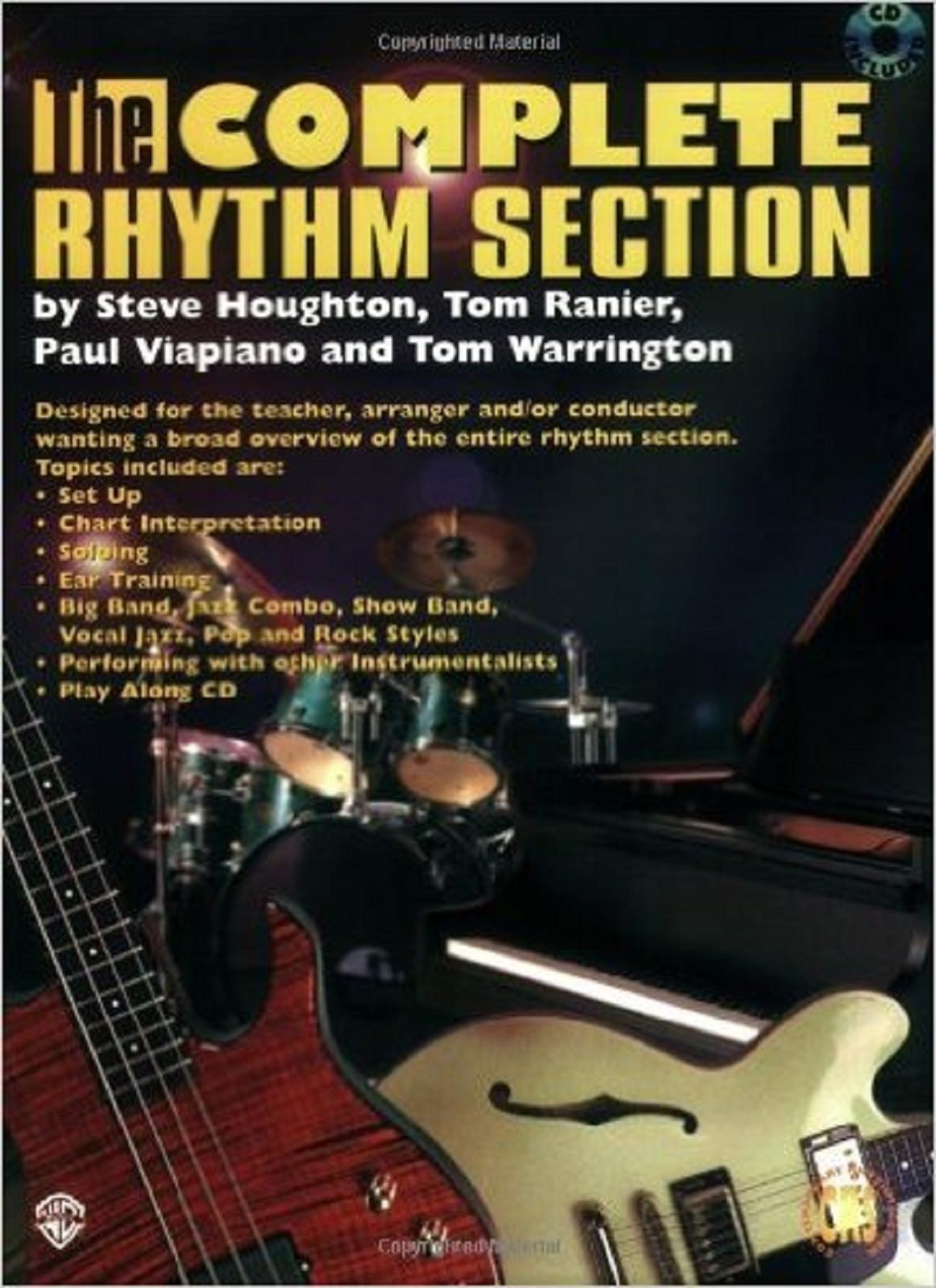 The Complete Rhythm Section Book CD By Houghton Ranier Viapiano Warrington S141