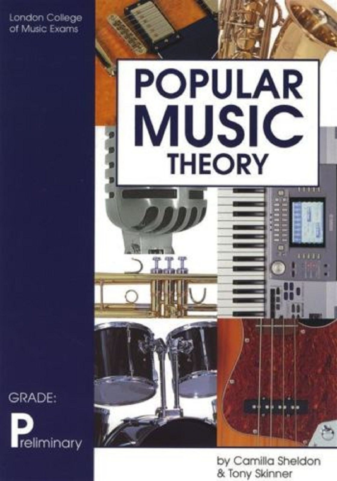 Popular Music Theory Grade Preliminary London College Of Music Exams Book S141