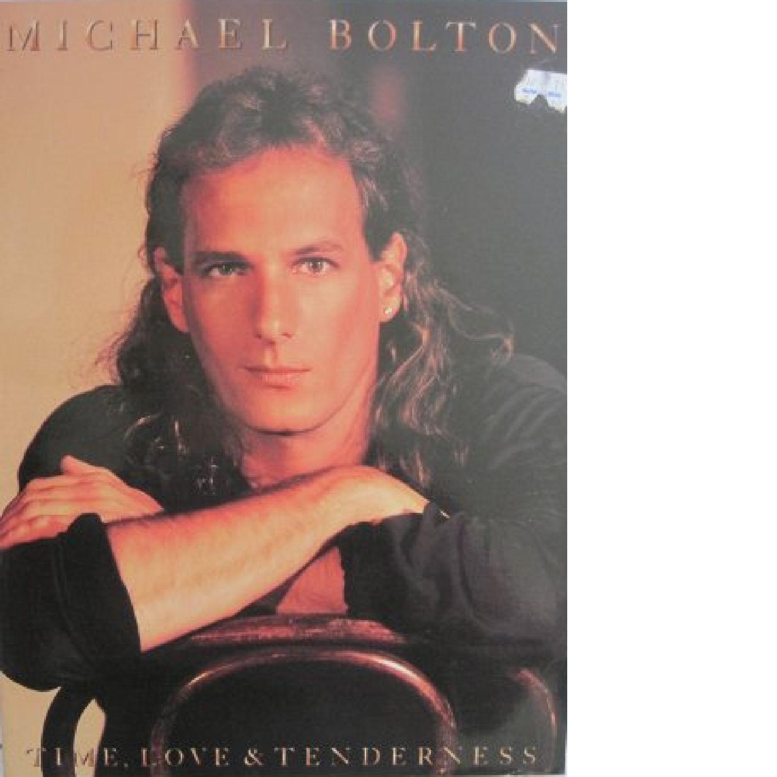 Michael Bolton Time Love & Tenderness Sheet Music Piano Vocal Guitar Book S145