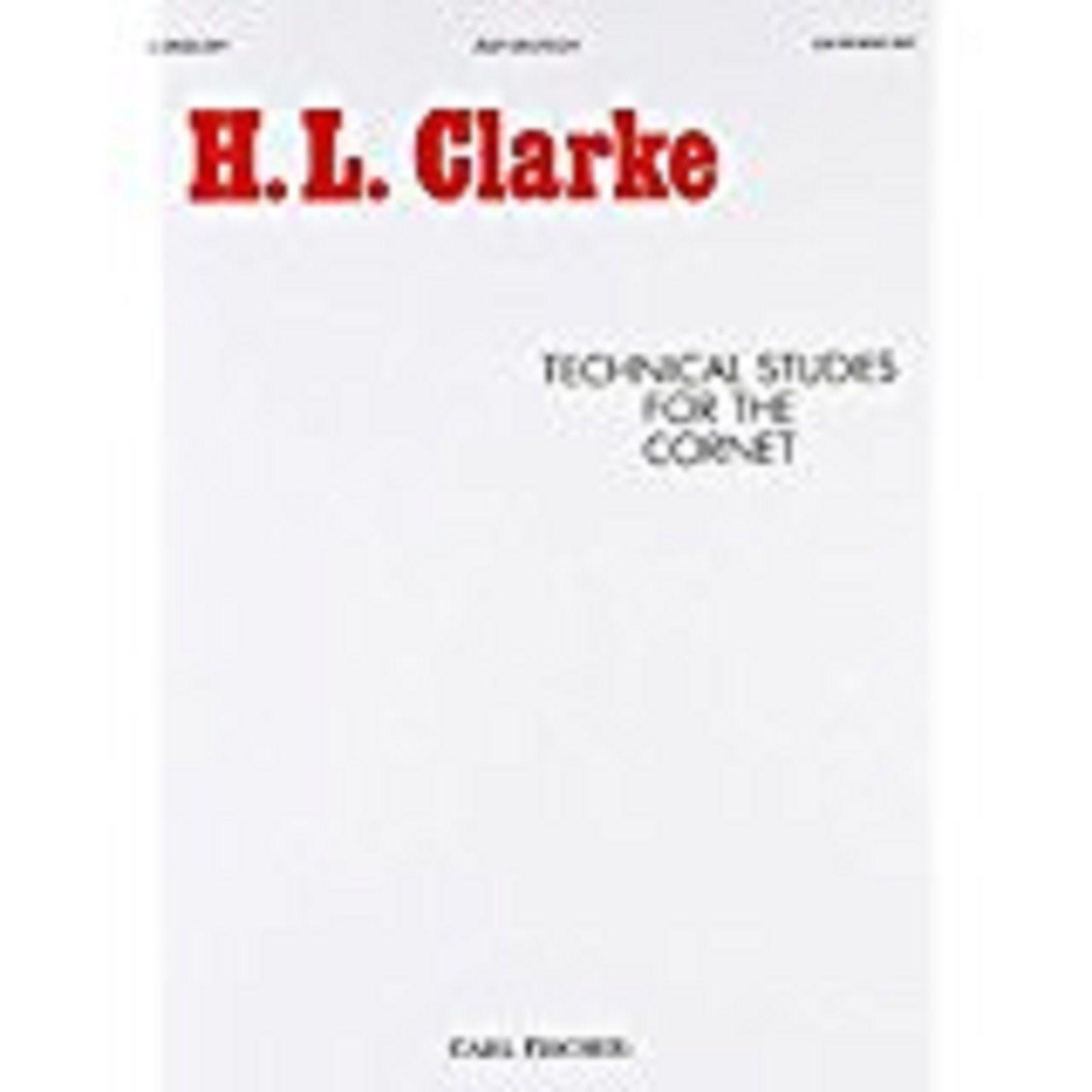 H L Clarke Technical Studies For The Cornet Book Technique Exercises S126