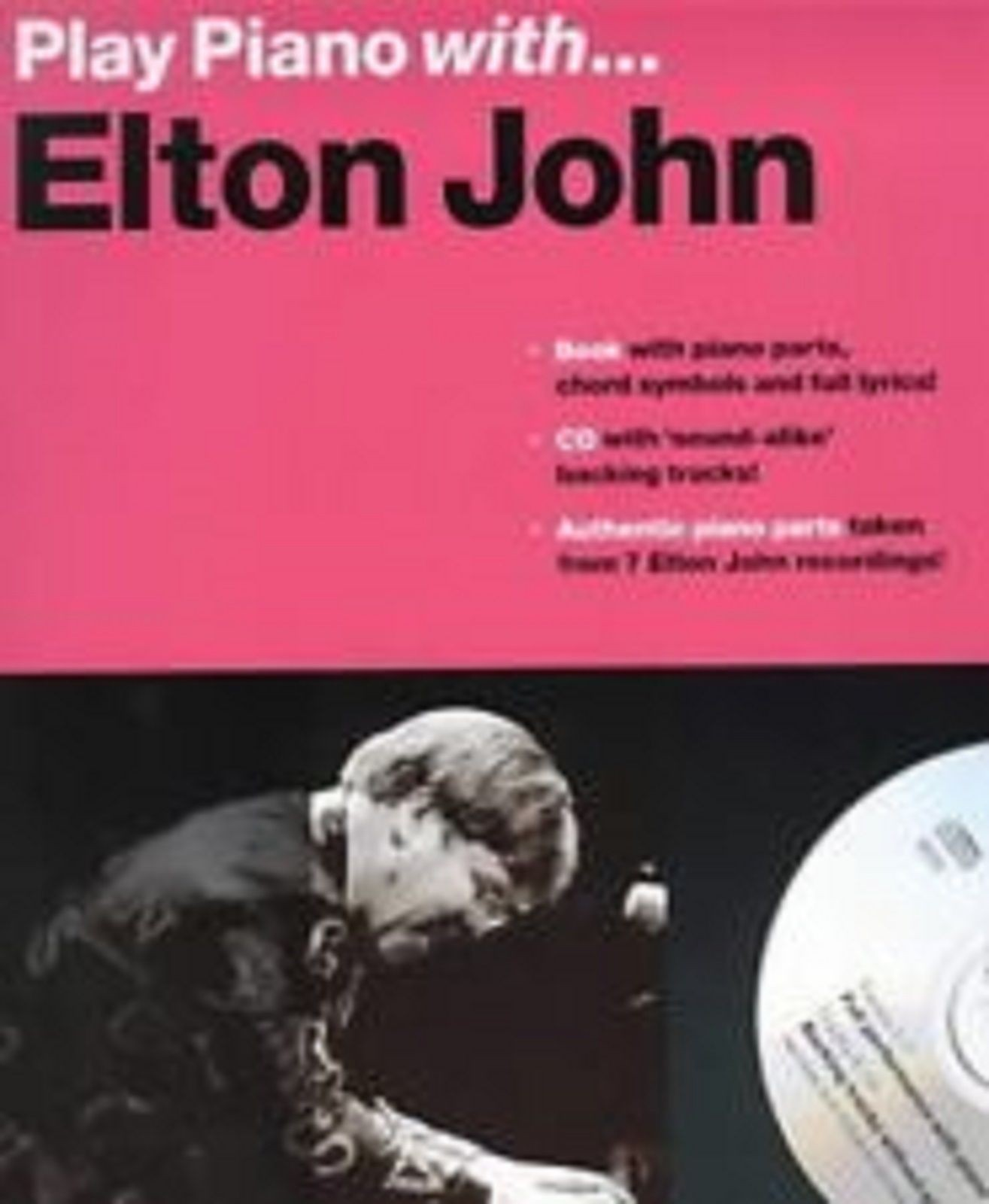 Play Piano With Elton John CD Book Pop Authentic Piano Part Chords Lyrics S129