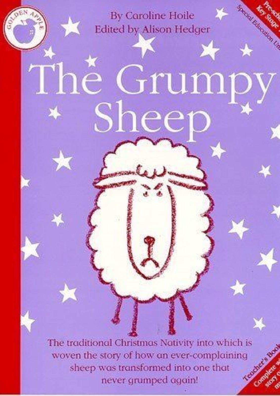 Caroline Hoile Pre & KS1 The Grumpy Sheep Christmas Nativity Teachers Book S131