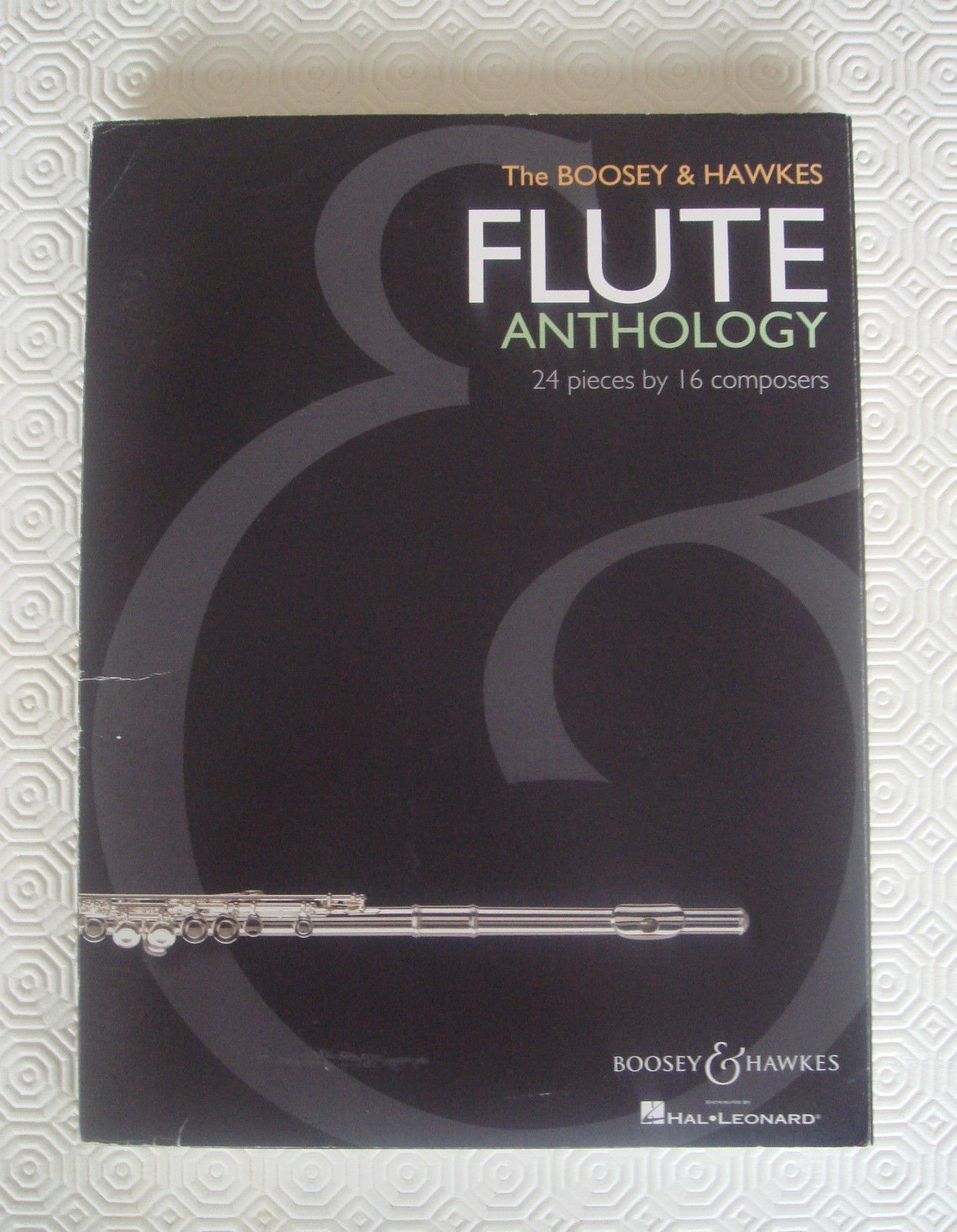 The Boosey & Hawkes Flute Anthology 24 Pieces 16 Composers Book Piano B28