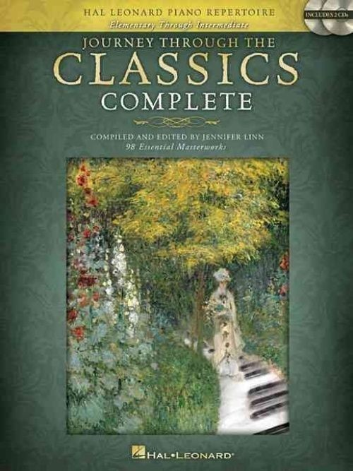 Journey Through The Classics Complete Piano Solo Book & 2 CDs Jennifer Linn S116
