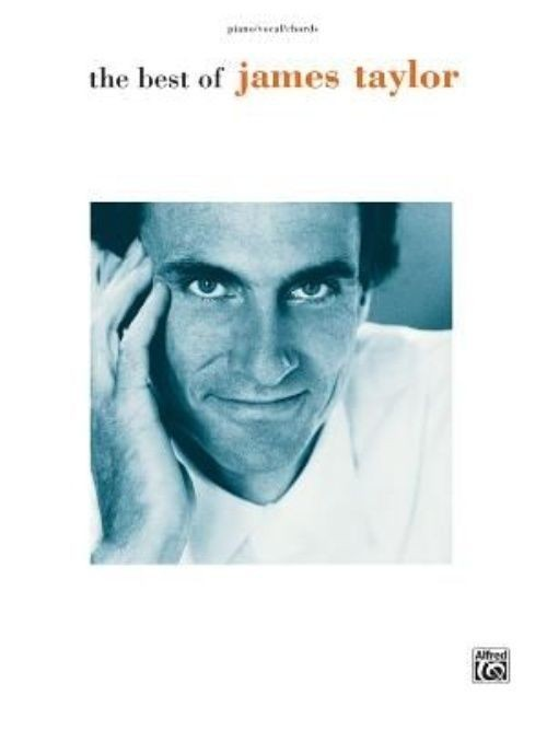 The Best of James Taylor Piano Vocal Chords Book Singer Songwriter S117