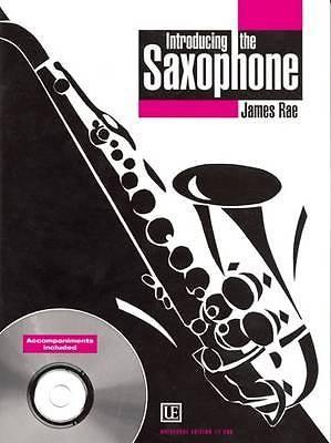 James Rae Introducing The Saxophone Sheet Music Studies Exercises CD Book S69