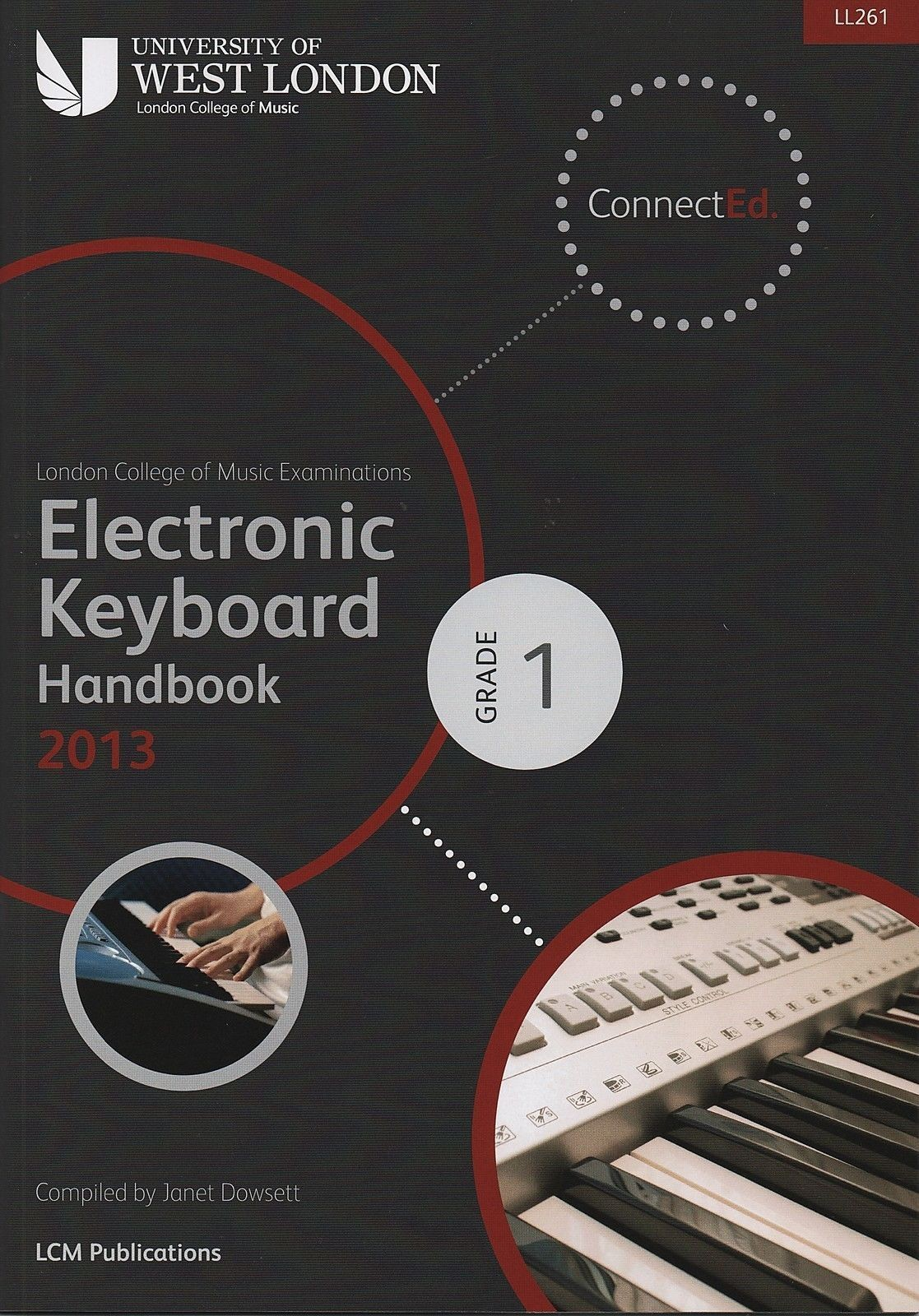 LCM LL261 Grade 1 Keyboard Handbook 2013-2019 Exam Book S69