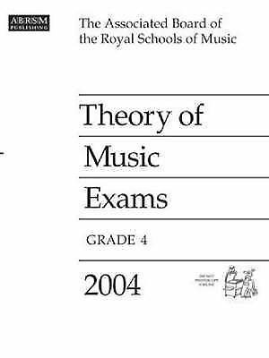 ABRSM Theory Of Music Exams Grade 4 2004 Past Papers Practice Exam S70