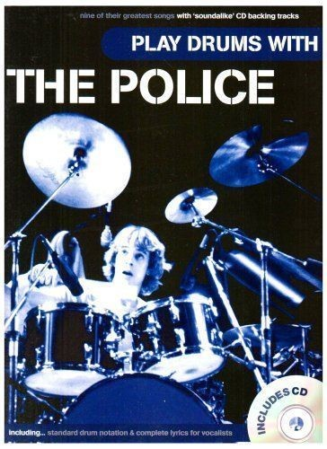 Play Drums With The Police Drum Drum Kit Notation Lyrics Soundalike CD Book S166