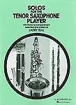 Solos For The Tenor Saxophone Player Piano Accompaniment Sheet Music Book S166