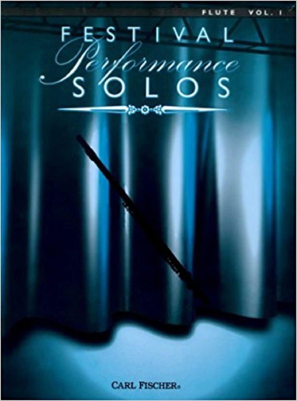 Festival Performance Solos Flute Volume 1 Sheet Music Edelson Gossec Book S168