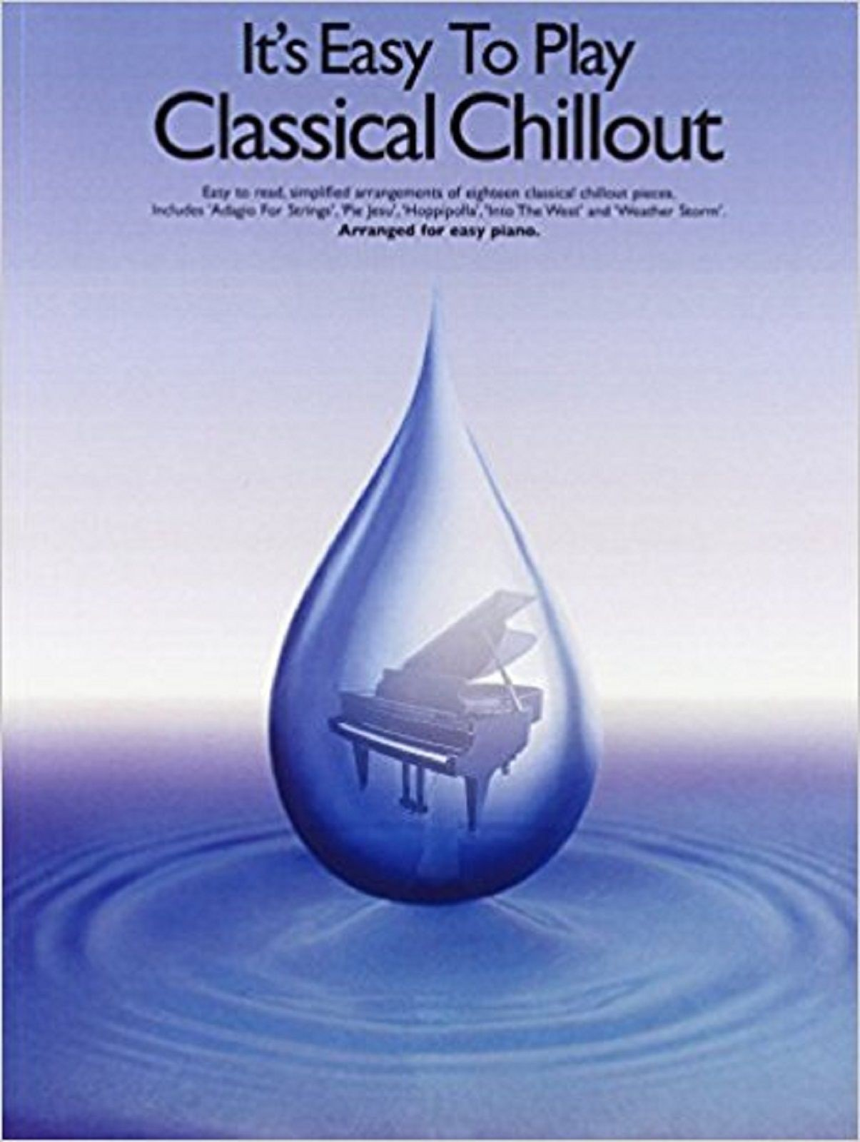 It's Easy To Play Classical Chillout Easy Piano Sheet Music Book S169