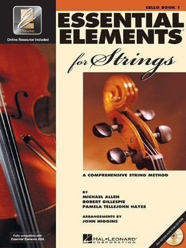 Essential Elements 2000 For Strings Cello Book 1 & CD Comprehensive Method S169