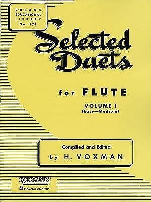Selected Duets For Flute Volume 1 No 177 Easy to Medium Book Sheet Music S115
