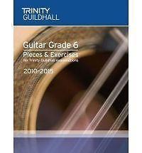 Guitar Exam Pieces & Exercises Grade 6 2010-2015 Trinity Sheet Music Book S171