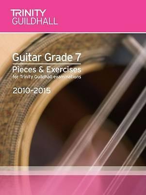 Guitar Exam Pieces & Exercises Grade 7 2010-2015 Trinity Sheet Music Book S134
