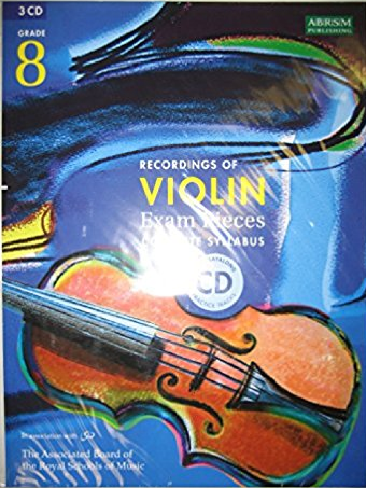 Recordings Of Violin Exam Pieces Complete Syllabus Grade 8 ABRSM CD & Book S134