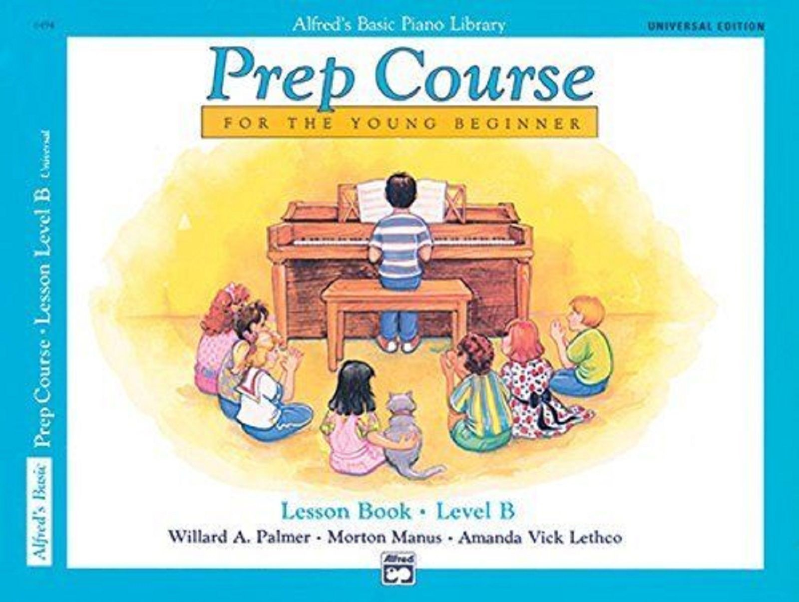 Alfreds Basic Piano Library Prep Course Lesson Book Level B Beginner CD S136