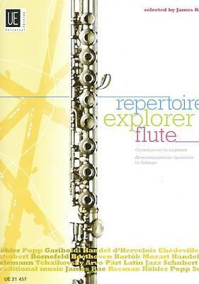 James Rae Repertoire Explorer Flute & Piano Book Graded Pieces for Beginners B45