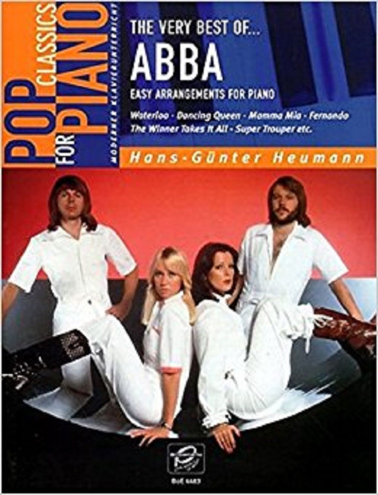 Pop Classics For Piano The Very Best Of ABBA Easy Sheet Music Book S145