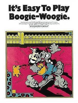 It's Easy to Play Boogie-Woogie Piano Sheet Music Book S148