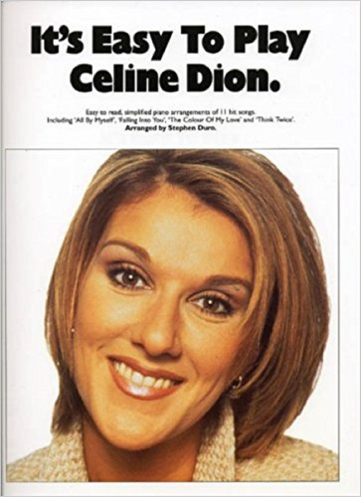 It's Easy to Play Celine Dion Piano Sheet Music Book S148