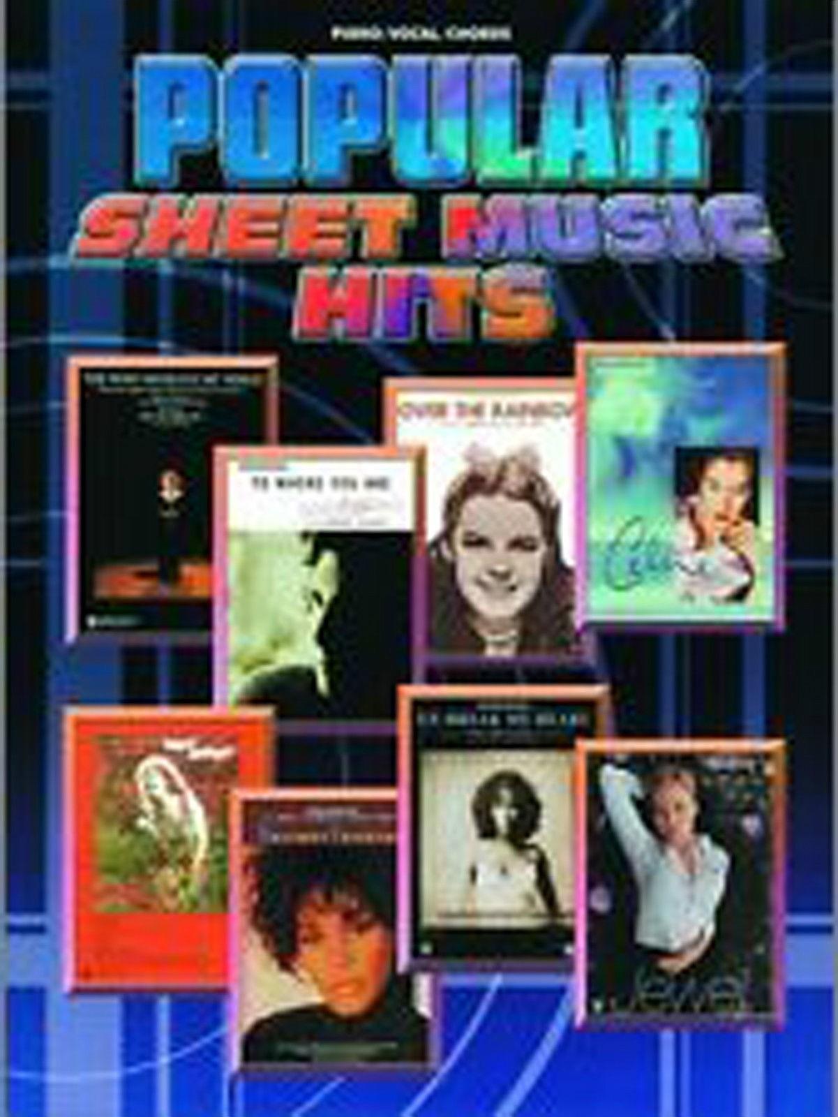 Popular Sheet Music Hits Piano Vocal Chords Book B39