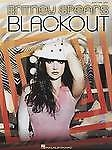 Britney Spears Blackout Easy Piano Voice Guitar Sheet Music Songbook B46