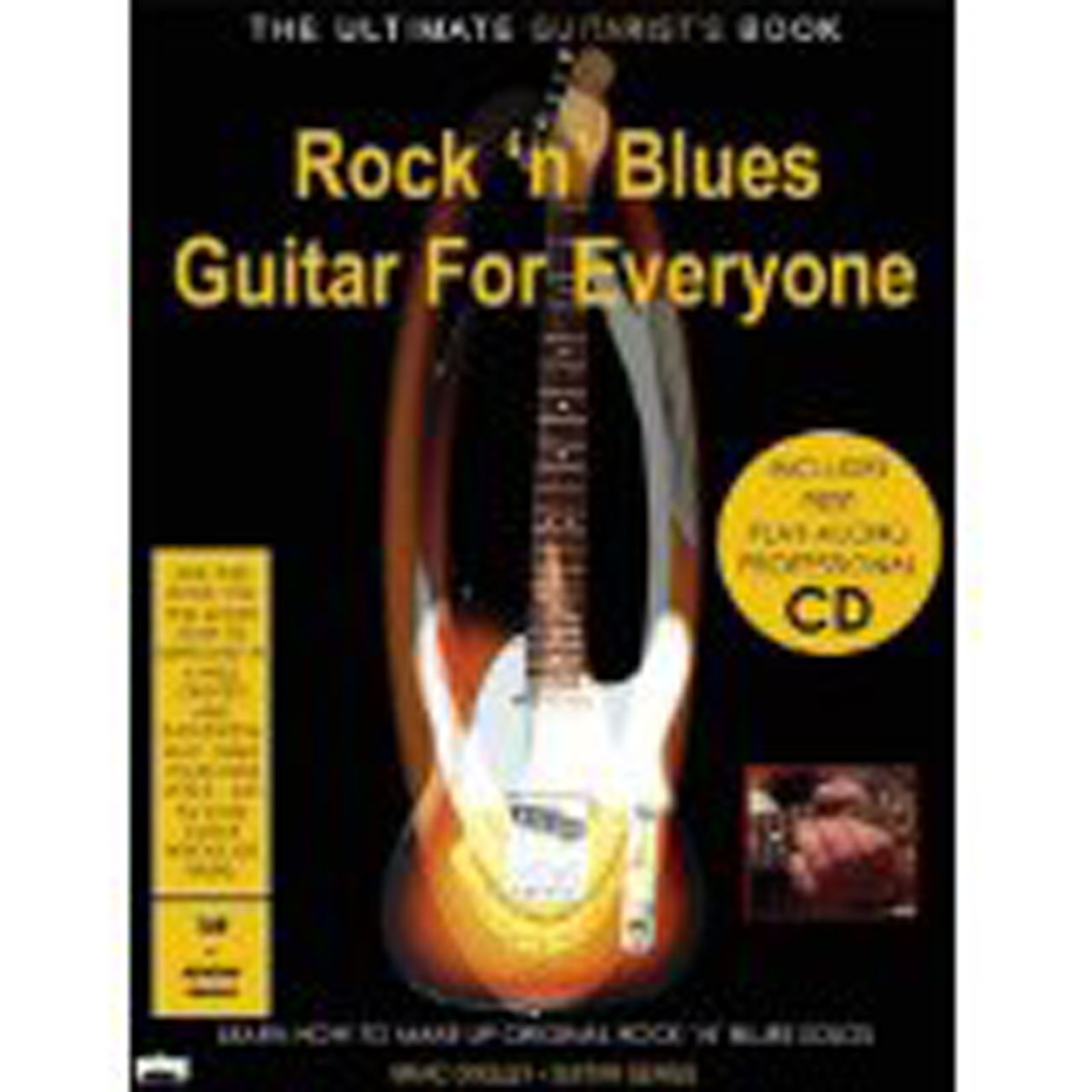 Rock 'n' Blues Guitar for Everyone Tutor Book CD TAB Notation Learn to Solo B47