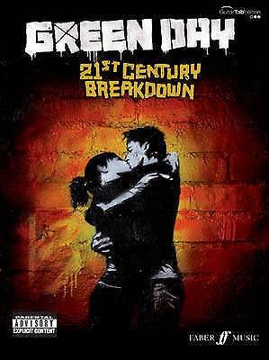 21st Century Breakdown Green Day Guitar Tab Edition Sheet Music Book Faber B59
