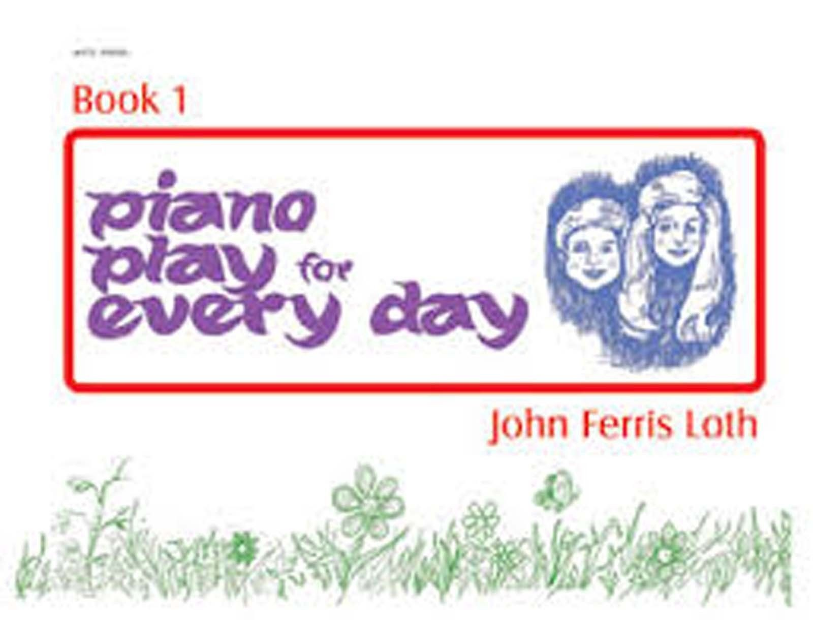 Piano Play For Every Day Book 1 Sheet Music Book Beginner Pieces Illustrated B73