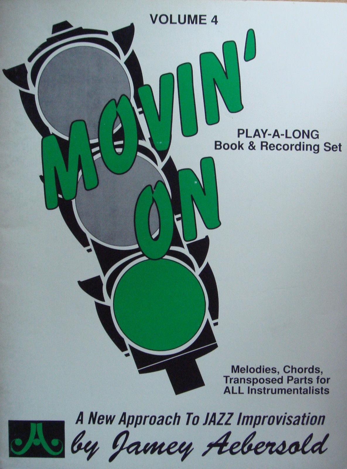 Movin' On Jazz Improvisation Tutor Music Book Practice Sheet Music Aebersold B84
