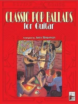 Classic Pop Ballads For Guitar TAB Sheet Music Book S96
