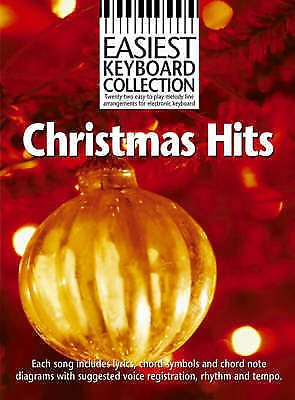 Easiest Keyboard Collection Christmas Hits Book B44